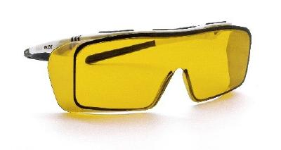 The new ONTOR laser safety goggles with blue light filter