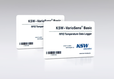KSW Microtec presents optimized temperature tracking transponder at RFID World 2008