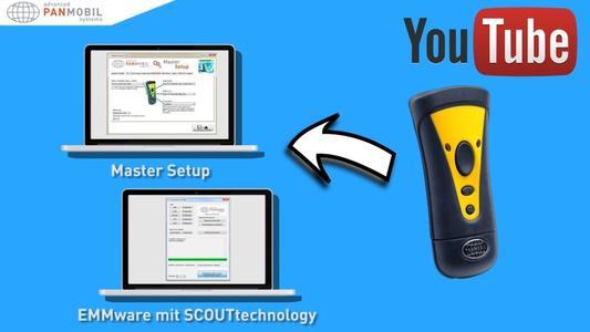PANMOBILs neues Master Setup vereinfacht die Scanner-Konfiguration