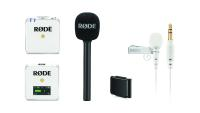 RØDE Wireless GO White, RØDE MagClip GO, RØDE Lavalier GO, RØDE Interview GO