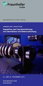 Flyer Seminar Inspektion und Charakterisierung von Oberflächen mit Bildverarbeitung
