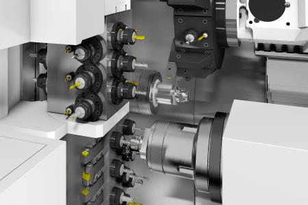 Komplexe Multi-Tasking-Maschinen werden mit SolidCAM optimal programmiert