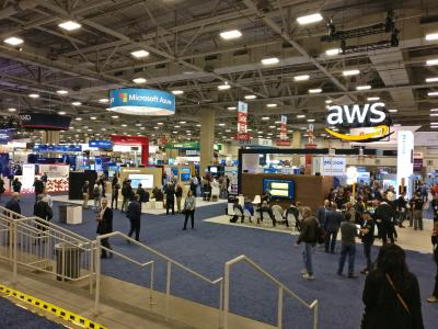 Main hall at SC18 in Dallas