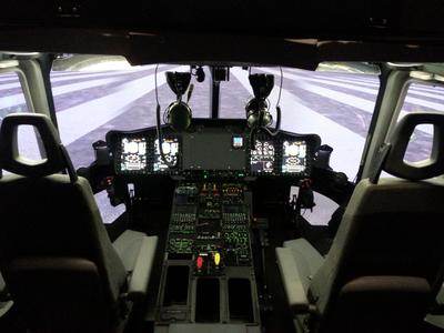 The initial full-flight simulator for Airbus Helicopters' EC175 is completed by Indra for service start-up this summer
