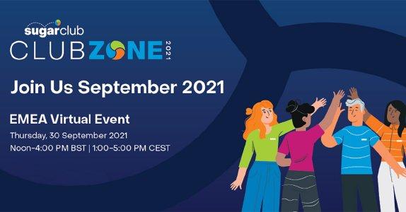 Sugar Clubzone: Erste virtuelle SugarCRM Kundenkonferenz am 30. September 2021