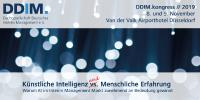 "DDIM.kongress // 2019: ""Impulsgeber für digitale Innovationen"""
