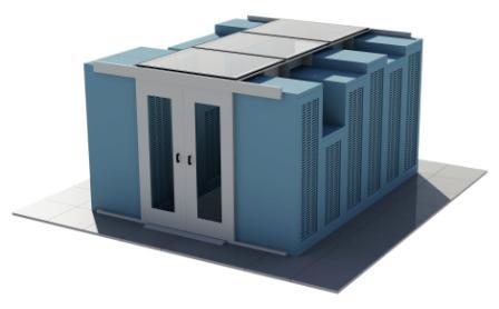 Das Daxten Containment-System haust selbst historisch gewachsene Rackumgebungen mit unterschiedlichen Höhen und Stelltiefen perfekt ein.