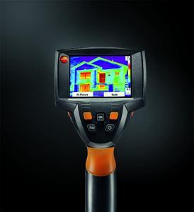 Die neue Wärmebildkamera testo 875i. Bild: Testo AG