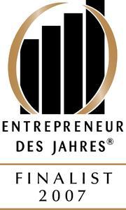 """""""Entrepreneur des Jahres – Finalist 2007"""""""