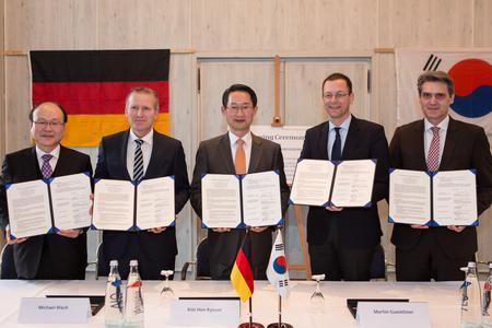 Südkorea Delegation