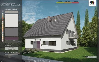Fassaden konfigurator brillux