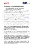 [PDF] Pressemitteilung: Umzugsfieber: Transporter zu Niedrigpreisen