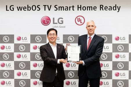 LG webOS 3.0 besteht UL-Eignungstest für Smart Home-Applikationen