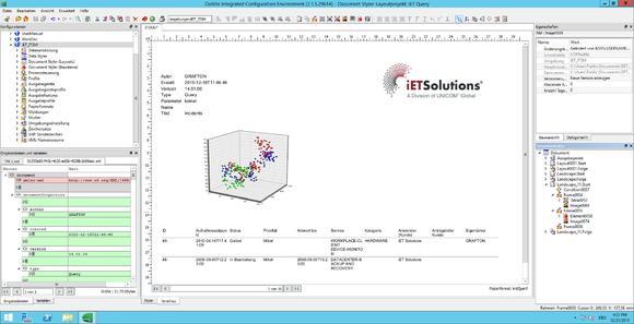 Report-Erstellung mit DoXite in iET Solutions