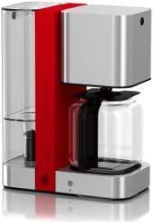 Steel Touch Glas-Kaffeemaschine