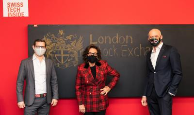 HeiQ is listed on the London Stock Exchange