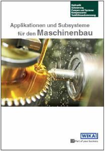 Instrumentierungslösungen für den Maschinenbau: Neue Broschüre als Entscheidungshilfe