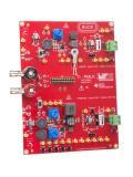 ariohm EuroSensor's' ETP-RT ring terminal temperature sensor mounted on Wurth Elektronik's TI-PMLK BUCK learning kit circuit board