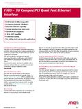 [PDF] F305 - Quad Fast Ethernet / Real-Time Ethernet Interface