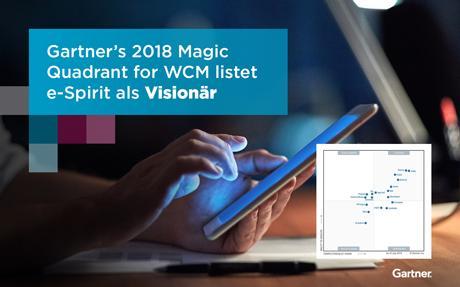"""e-Spirit wird von Gartner unter den führenden CMS-Anbietern als """"Visionär"""" aufgeführt"""