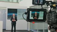 Frank Stührenberg, CEO von Phoenix Contact, anlässlich einer digitalen Pressekonferenz