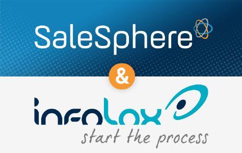 Partnerschaft zwischen SaleSphere & infolox