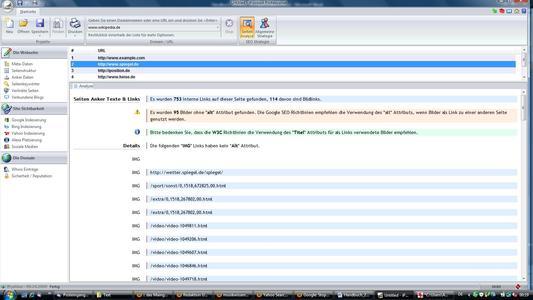 iPosition - Website-Überprüfung
