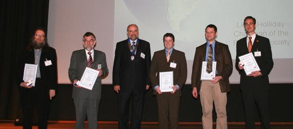 On the photo from left to right: T. Sobisch, D. Lerche, L. Holliday, T. Detloff, M. Beiser, A. Erk