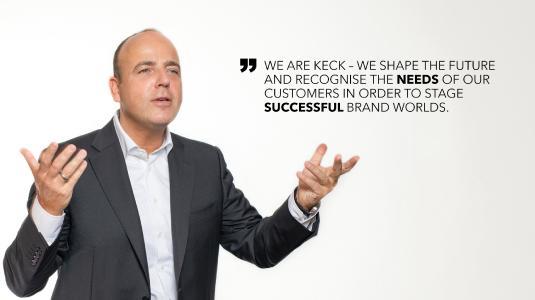 Markus Futterer, CEO, KECK GROUP