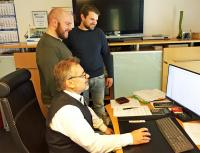 Volker Marquard führt das Unternehmen zusammen mit seinen Söhnen Michel und Severin