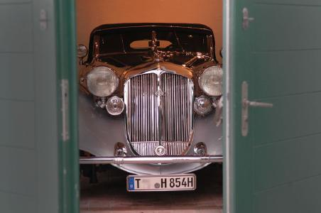 Raus aus den Garagen zur 31. Bavaria Historic