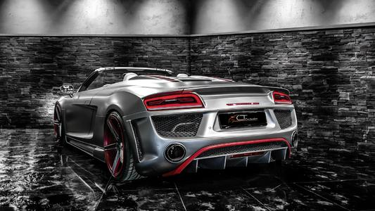 Sportive Styling for Audi R8 from CT Exclusive germany