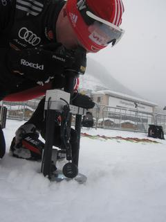 Opto supports Germanys Skiing Team