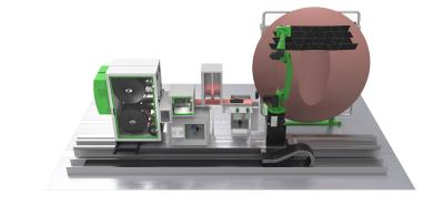 Automated multi-material fiber placement by Cevotec at JEC World 2019