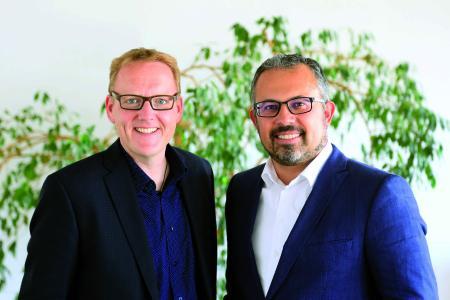 Christian Cramer (l.) und Sascha Konul