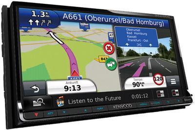 """Das """"Car-Entertainment-Highlight des Frühjahrs 2013""""*: Kenwood-Navitainer mit Internetzugang sowie eigenständigem WLAN-Netzwerk einschließlich DLNA"""