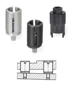 Jetzt wird das Nivellieren noch einfacher, schneller und kompakter: Dank der raffiniert konzipierten Elemente GN 355 von Ganter