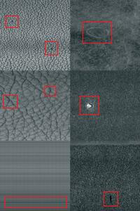 WebControl-Tex detects surface defects also on extremely irregularly textured materials.
