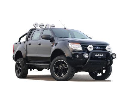 Felge/wheel delta Sins black 9x20, Reifen/Tire 305/55 R20 Mickey Thompson MTZ (50%Gelände (off road)/50% Strasse (road))