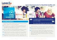 Layer2 Cloud Connector product flyer