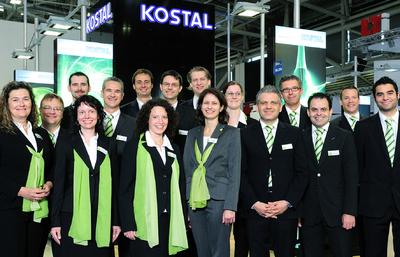 Starkes KOSTAL Solar Electric Team: alle internationalen Ländergesell-schaften waren in München vertreten