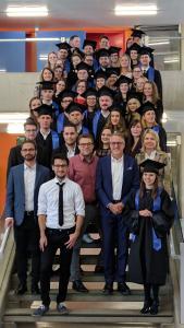 Aalener Augenoptik, Optometrie sowie Hörakustik Bachelor- und Masterabsolventen / Fotonachweis: © Hochschule Aalen / Peter Hoch