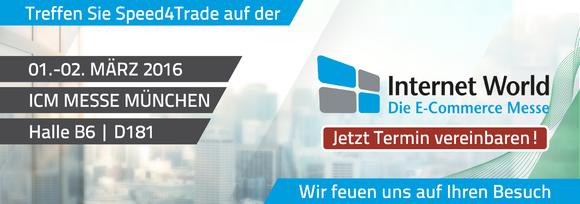 Treffen Sie Speed4Trade auf der Internet World