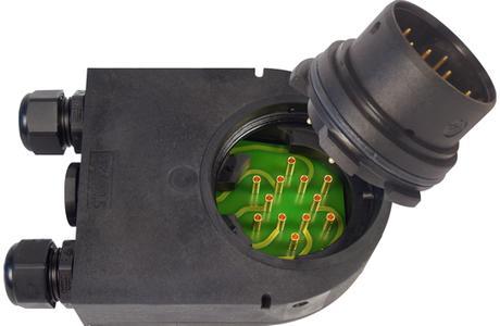 Der FL3-Servo-Power mit austauschbarem Kontakteinsatz
