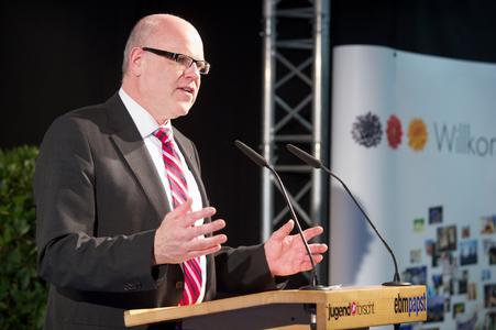 Rainer Hundsdörfer, Vorsitzender der ebm-papst Gruppengeschäftsführung.