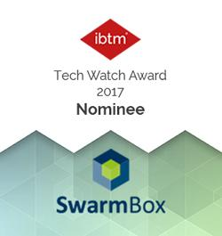 SwarmBox nominiert für Technology Watch Award