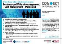 [PDF]: Online Round Table: Herbstsymposium Business- und IT-Servicemanagement  2021 Cost-Management – Multicloud