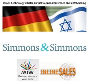 15. Deutsch-Israelische Business-Konferenz und Matchmaking-Event am 09.09.2015 in Frankfurt/Main