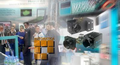 Automatica 2014 - Automation of industry and logistics with image processing solutions from FRAMOS
