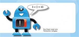 Innenansicht mit Rof Robot